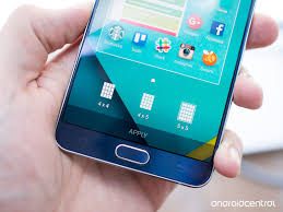 How to change the Galaxy Note 5 s home screen grid size