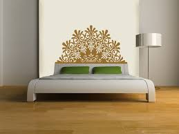 amazon com headboard decal elegant vinyl wall sticker gold