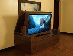 tv lift handgefertigt low profile granit top tv lift