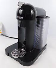 Item 1 NESPRESSO VERTUOLINE Black Automatic Espresso Machine GCA1