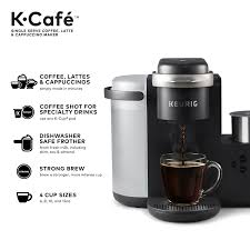 Amazon Keurig K Cafe Single Serve Cup Pod Coffee Latte And Cappuccino Kitchen Dining