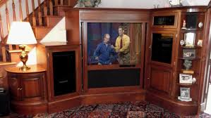 Wooden Corner Entertainment Center With Doors And Accent Table For ... Corner Tv Cabinet With Doors For Flat Screens Inspirative Stands Wall Beautiful Mounted Tv Living Room Fniture The Home Depot 33 Wonderful Armoire Picture Ipirations Best 25 Tv Ideas On Pinterest Corner Units Floor Mirror Rockefeller Trendy Eertainment Center Low Screen Stand And Stands For Flat Screen Units Stunning Built In Cabinet Modern Built In Oak Unit Awesome Cabinets Wooden Amazing