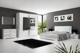 photo chambre chambre a coucher adulte blanc laque avec eclairage led 30 jpg