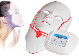 Intense Pulsed Facial Light Therapy Mask Acne Light Mask Low Level