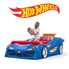 Hot Wheels Toddler To Twin Race Car Bed Kids Bed