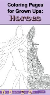 Rocking Horse Coloring Pages Printable Jumping To Print Adults Race Full Size