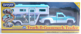 Breyer 1:32 Stablemates Truck And Gooseneck Trailer Model By Breyer ... Bruder 02749 Man Tga Cattle Transportation Truck With 1 Cow New Breyer Horse And Trailer Breyer 5356 Stablemates Gooseneck In Box Traditional Two Millbry Hill Amazoncom Animal Rescue And The Best Of 2018 Pickup Fort Brands 5352 Wyldewood Tack Shop Used Red Dually Truck Trailer Sn14 North Wraxall For 19 Scale Twohorse Horze Series Dually