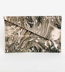 hand dyed marbled leather envelope clutch women u0027s bags u0026 carry