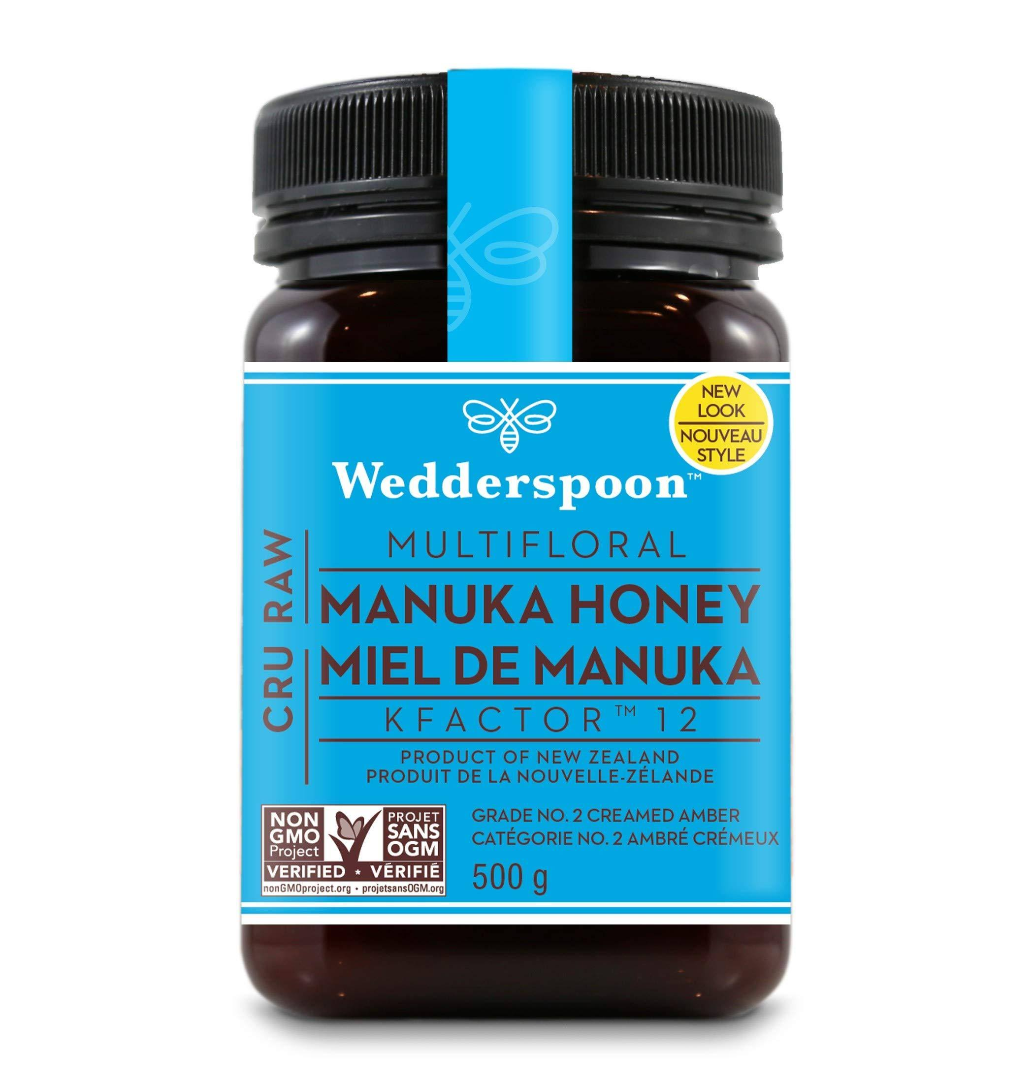 Wedderspoon 100% Raw Manuka Honey