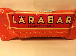 Review Larabar Cashew Cookie Food Bar