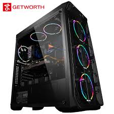 pc de bureau i7 getworth r31 liquide de refroidissement ordinateur intel i7 de