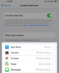 Location Services Always In iOS 8 How To Fix It