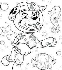 Paw Patrol Coloring Pages Page For