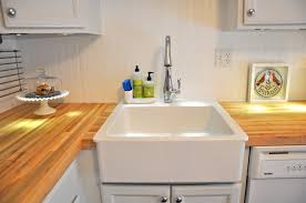 Retrofit Copper Apron Sink by Detailed Instructions For Installing An Ikea Apron Sink Kitchen