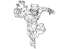 Panther Coloring Pages Free Black To Print Pink Games