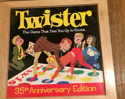 NEW Twister 35th Anniversary Edition COLLECTORS Wooden Box Milton Bradley RARE