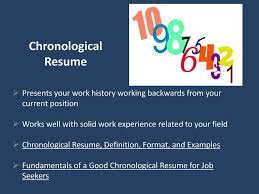 """Preparing """"Perfect"""" Resumes And Cover Letters - Ppt Download Define Chronological Resume Sample Mplate Mesmerizing Functional Resume Meaning Also Vs Format Megaguide How To Choose The Best Type For You Rg To Write A Chronological 15 Filename Fabuusfloridakeys Example Of A Awesome Atclgrain"""