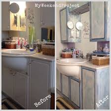 Chalk Paint Colors For Cabinets by Painting Bathroom Cabinets Nrtradiant Com