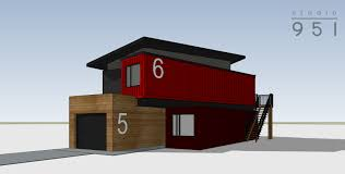 100 Shipping Container Studio Housing 16010 951 Architects We Solve