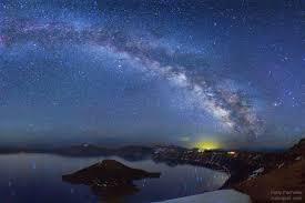 Crater Lake Milky Way By Wally Pacholka TWAN