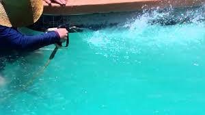 clean pool tile remove scale and calcium buildup in tucson 1
