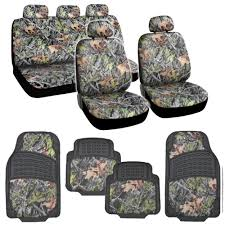Camo Seat Covers & Rubber Floor Mats - 15pc Universal Fit - Heavy ... Bench Browning Bench Seat Covers Kings Camo Camouflage 31998 Ford Fseries F12350 2040 Truck Seat Neoprene Universal Lowback Cover 653099 Covers Oilfield Custom From Exact Moonshine Muddy Girl 2013 Buyers Guide Medium Duty Work Info For Trucks My Lifted Ideas Amazoncom Fit Seats Toyota Tacoma Low Back Army Ebay Caltrend