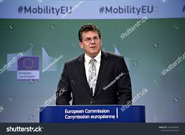 100 Sefcovic Press Conference By Vice President Maros Stock Photo Edit