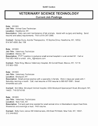 Veterinary Assistant Resume Summary Clever Examples Unique Certified Nursing
