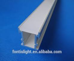 Outdoor Indoor Floor Extrusion LED Aluminum Profile For Strips ALP034