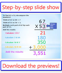 Halloween Math Multiplication Worksheets by Partial Product Multiplication Lesson Classroom Caboodle