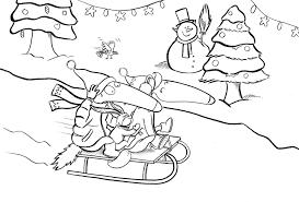Coloriage Petit Sapin De Noël à Imprimer