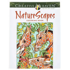 Get Nature Scapes Coloring Book Online Or Find Other Books Products From HobbyLobby