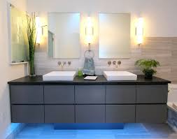 Bathroom Wall Sconces Chrome by Awesome Double Wall Sconce Bathroom
