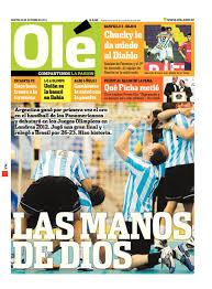 Tapas de diarios – Martes 25 de Octubre de 2011