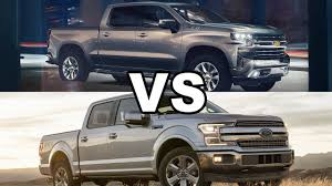 100 Ford Trucks Vs Chevy Trucks 2019 Silverado 1500 Vs 2018 F150 YouTube