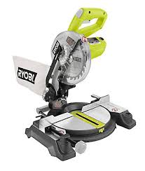 Wet Tile Saw Home Depot Canada by Ryobi 7 25 Inch Miter Saw With Laser The Home Depot Canada