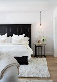 On The Master Bedroom Clients Favorite Color Palette Is Black And White So