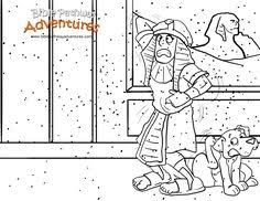 A Coloring Page For Kids From The Story Escape Egypt Poor Pharaoh
