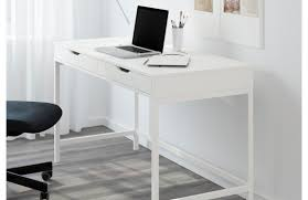 Glass And Metal Corner Computer Desk White by Bewitch Figure Shop Computer Desk Favored Office Desk For Two