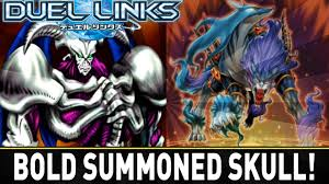 bold summoned skull yugioh duel links mobile w shadypenguinn