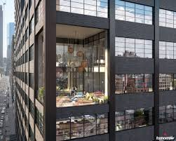100 Tribeca Rooftops Drab Office Building To Get Pocket Parks And Rooftop Lounges