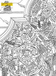 Central Park NYC Coloring Book Page For Free Save And Print