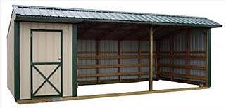 portable loafing sheds by better built storage buildings wichita