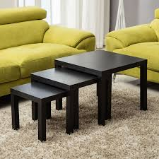 100 Living Room Table Modern Mecor Nest Of 3 Side Gloss Coffee Design