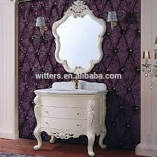 Shabby Chic White Bathroom Vanity by Royal French Shabby Chic White Bathroom Vanity Small Farmhouse