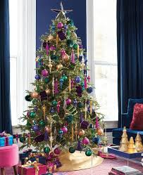 Frontgate Christmas Trees by Holiday Road Design Destination Uptown Brights Grandin Road Blog