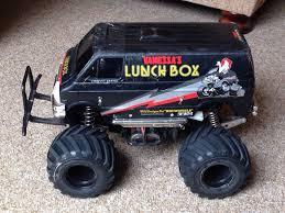 100 Monster Truck Lunch Box Tamiya Box Black Edition