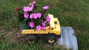 Dump Truck Flower Pots
