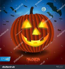 Scary Pumpkin Printable by Halloween Background Scary Pumpkin Vector Eps Stock Vector