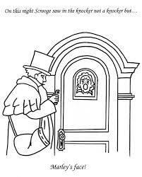 Barbie Christmas Carol Coloring Pages Free